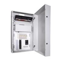 """Hubbell IDF42 RE-BOX« û Commercial Equipment Cabinet, 42öH x 24.2öW x 10öD, Light Gray"""