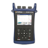"""AFL OFL280-102 1310, 1490, 1550 nm Dual-wavelength OTDR/Loss test set"""
