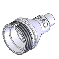 AFL DFS1-00-0031MR Tip for LEMO 2.0 mm bulkhead adapter