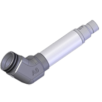 AFL DFS1-01-0006MR 60 degree angled tip for SC/APC bulkhead adapter