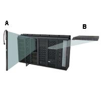 """APC AP7582 Rack PDU Extender, 2U, 30A, 120V, (12)5-20"""
