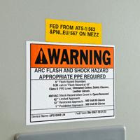 Brady B30KIT-ARCFLASH-W Arc Flash Warning Supply Kit