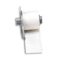 """Brady M71-45-422 Glossy Polyester Labels, 1.5"""", 0.375"""""""
