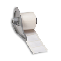 """Brady M71-78-499 BMP71 Nylon Cloth Labels, 1.9"""", 1"""""""
