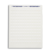 """Brady LAT-15-361-5 Category 5 Labels 1/2"""" write-on-area 5000 Pk."""""""