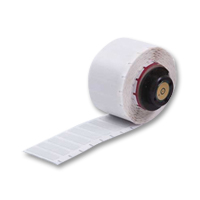"""Brady PTL-20-428 TLS2200 Metalized Polyester Labels, (A) 2"""" x (B) 1"""""""