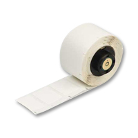 """Brady PTL-32-498 TLS2200 Vinyl Cloth Labels, (A) 1.5"""" x (B) 1.5"""""""