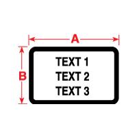 """Brady PTL-24-423-BK TLS2200 Permanent Polyester Labels, (A) 1.13"""" x (B) 0.5"""""""