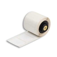 """Brady PTL-78-499 TLS2200 Nylon Cloth Labels, (A) 1.9"""" x (B) 1"""""""