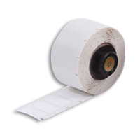 """Brady PTL-84-499 TLS2200 Nylon Cloth Labels, (A) 0.9"""" x (B) 0.5"""""""
