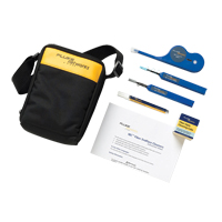 Fluke Networks NFC-KIT-CASE-E Enhanced Fiber Optic Cleaning Kit