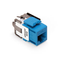 Leviton 6110G-RL6 eXtreme 10G Channel-Rated Connector (Blue)