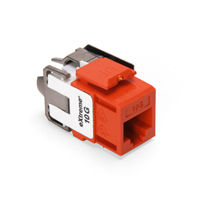 Leviton 6110G-RO6 eXtreme 10G Channel-Rated Connector (Orange)