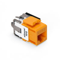 Leviton 6110G-RY6 eXtreme 10G Channel-Rated Connector (Yellow)