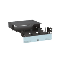Panduit FRME2U Up to 6 FAP/FMP adapter panels