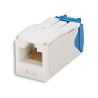 """Panduit CJ688TGAW Mini-Com Module, Cat 6, UTP, 8 pos 8 wire, Universal, Arctic White, TG Style"""
