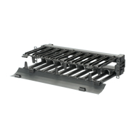"""Panduit PEHF2 PatchRunner High Capacity Horizontal Cable Managers, 2 rack spaces"""