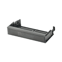 Panduit QPPBBL QuickNet  Patch Panel Blank reserves space for future use and promotes proper airflow and cooling.