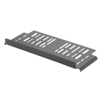 """Panduit R4PWF Top trough w/waterfall creates pathway above rack. 1.9""""H x 26.1""""W x 8.5""""D"""