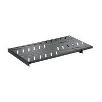 """Panduit RSHLF36 4 post rack mount shelf. Load rating 275 lbs. 1.7""""H x 19.0""""W x 36.0""""D 1 rack space"""