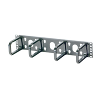 """Panduit CMPHF2 Open-Access Horizontal Cable Managers, 3.5""""H x 19.0""""W x 3.4""""D"""