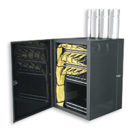 """Middle Atlantic CWR-12-17PD CableSafe Data Wall Cabinet (24 7/8"""" H, 15"""" D, 27 7/16"""" W)"""