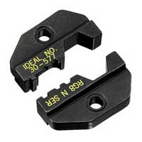 """Ideal 30-577 Die Set, RG-8, N-Series/BNC, for Crimpmaster Frame"""