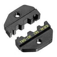 """Ideal 30-581 Die Set, RG-58, RG-59/62, BNC/TNC, for Crimpmaster Frame"""