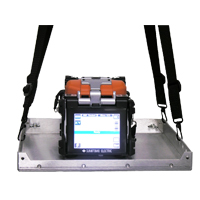Sumitomo MPF-01 Mini FTTH work platform fur use with Type 25e series fusion splicers
