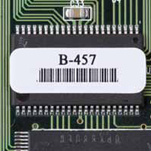 """Brady THT-1-457-5-SC Circuit Board Materials, B-457, Polyimide White, 0.750"""", 0.250"""", 0.800"""", 0.350"""", 3.350, 4, 5,000 Labels"""