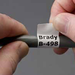 """Brady THT-105-472-SC Wire & Cable Materials, B-472, Polyimide White, 1.500, 300 ft, 1.750, 1, 1 roll cont."""