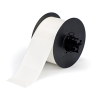 """Brady B30C-2250-595-CL Indoor/Outdoor Vinyl, Clear, 2.250, 100ft., 1 roll (cont.) Labels"""