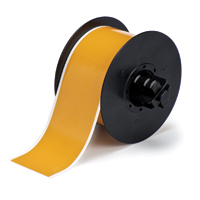 """Brady B30C-2250-569-OC Low-Halide Polyester, Ochre, 2.250, 100ft., 1 roll (cont.) Labels"""