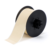"""Brady B30C-2250-569-TN Low-Halide Polyester, Tan, 2.250, 100ft., 1 roll (cont.) Labels"""
