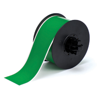 """Brady B30C-2250-595-GN Indoor/Outdoor Vinyl, Green, 2.250, 100ft., 1 roll (cont.) Labels"""