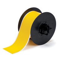 """Brady B30C-2250-595-YL Indoor/Outdoor Vinyl, Yellow, 2.250, 100ft., 1 roll (cont.) Labels"""