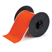 """Brady B30C-4000-584-OR Retro Reflective Tape, Orange, 4.000, 50ft., 1 roll (cont.) Labels"""