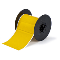 """Brady B30C-4000-584-YL Retro Reflective Tape, Yellow, 4.000, 50ft., 1 roll (cont.) Labels"""