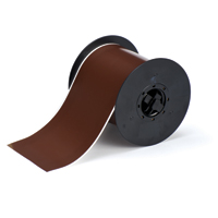 """Brady B30C-4000-595-BR Indoor/Outdoor Vinyl, Brown, 4.000, 100ft., 1 roll (cont.) Labels"""
