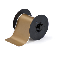 """Brady B30C-4000-595-GD Indoor/Outdoor Vinyl, Gold, 4.000, 100ft., 1 roll (cont.) Labels"""
