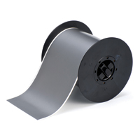 """Brady B30C-4000-569-GY Low-Halide Polyester, Gray, 4.000, 100ft., 1 roll (cont.) Labels"""