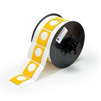 """Brady B30EP-167-593-YL PermaSleeve« HX Polyolefin Wire Marking Sleeves, B-593, Yellow, 1.500, 1.200, 0.885, 1.750, 2.500, 1, 200 Labels"""