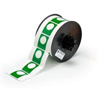 """Brady B30EP-167U-593-GN PermaSleeve« HX Polyolefin Wire Marking Sleeves, B-593, Green, 1.500, 1.200, 0.885, 1.750, 2.500, 1, 200 Labels"""