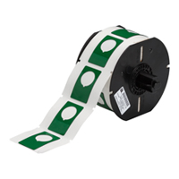 """Brady B30EP-168-593-GN PermaSleeve« HX Polyolefin Wire Marking Sleeves, B-593, Green, 1.900, 1.200, 0.885, 2.125, 2.500, 1, 180 Labels"""
