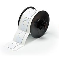 """Brady B30EP-168-593-WT PermaSleeve« HX Polyolefin Wire Marking Sleeves, B-593, White, 1.900, 1.200, 0.885, 2.125, 2.500, 1, 180 Labels"""