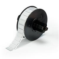 """Brady B30EP-171-593-SL PermaSleeve« HX Polyolefin Wire Marking Sleeves, Silver, 0.490, 1.060, 0.750, 1.375, 1, 500 Labels"""