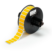 """""""Brady B30EP-171-593-YL Raised Profile Labels - Engraved Plate Substitutes (B-593) Rectangular Style, Yellow, 0.490, 1.060, 0.750, 1.375, 1, 500 Labels"""""""