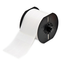 """""""Brady B33-10-427 Self-Laminating Vinyl Wire & Cable Labels, White, 1.000, 3.750, 1.075, 4.000, 3.350, 1.000, 3, 1500 Labels"""""""