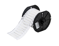 """""""Brady B33D-94-2-342 PermaSleeve« PS Polyolefin Wire Marking Sleeves, White, 28 to 20, 0.023 - 0.080, 0.094, 0.024, .024 +/- .003, 1, 1000 Labels"""""""