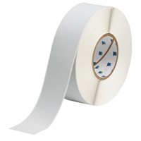 """Brady THT-106-486 Polyester, Silver, 2.000, 300 ft., 300 ft, 2.200, 1, 1 Roll Cont., R4302 Labels"""